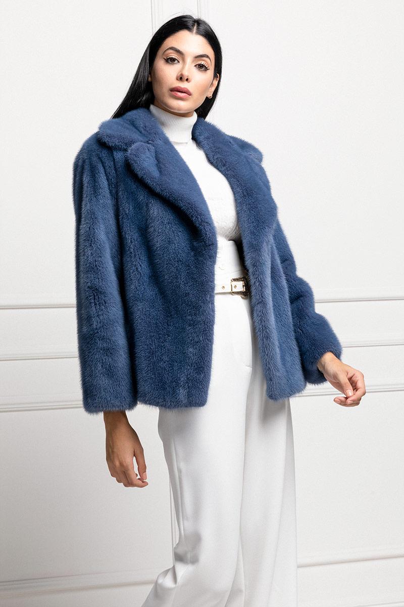 Blue Mink Jacket