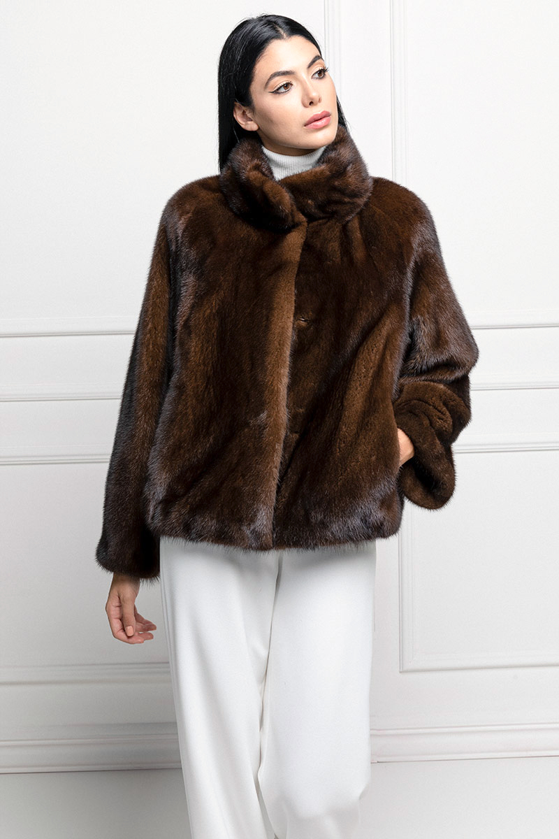 Brown Mink Jacket