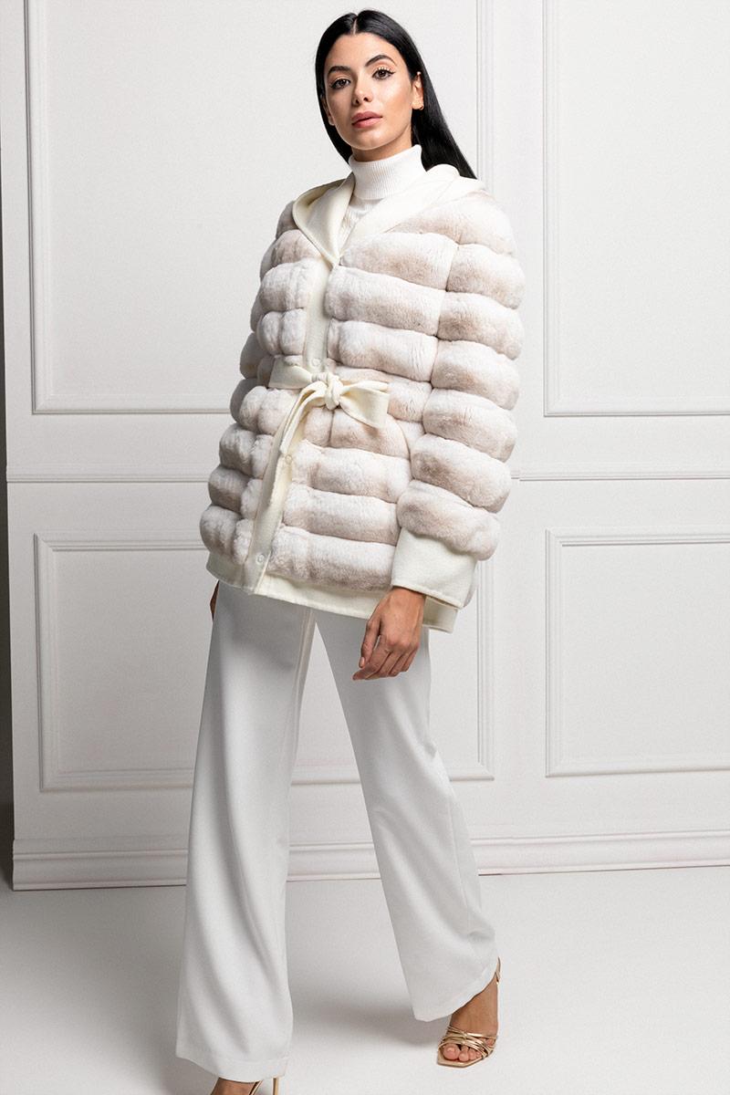 Cashmere with White Chinchilla