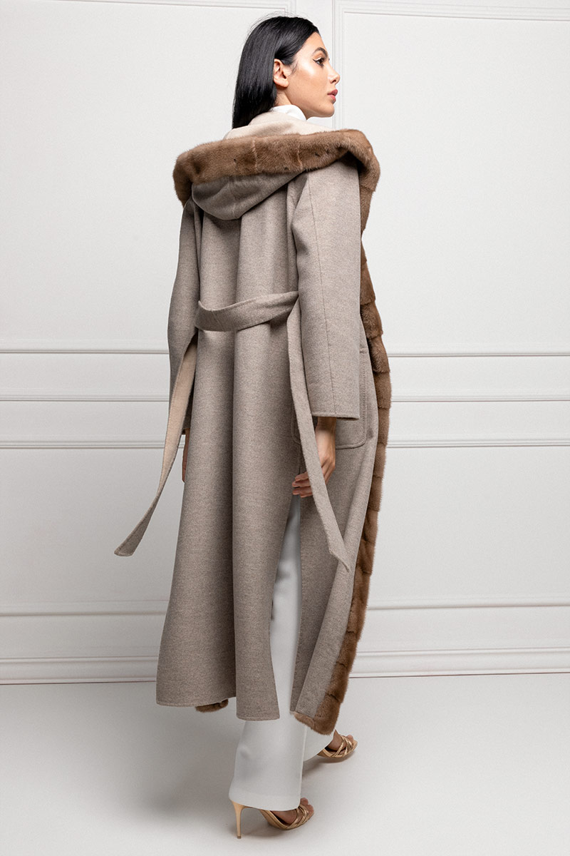 Cashmere with Pastel Mink