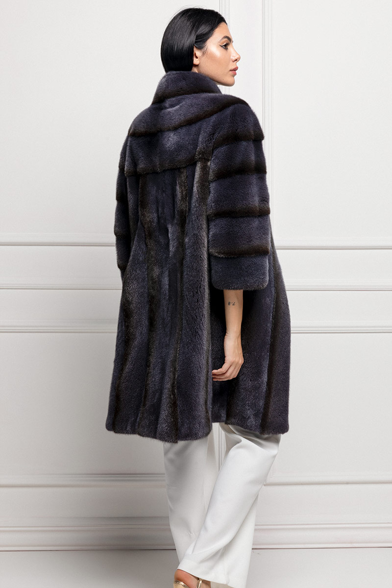 Mink Coat with Wool