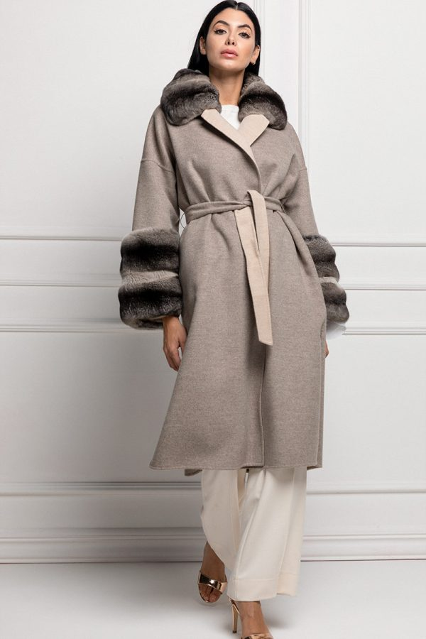 Loro Piana Cashmere with Chinchilla