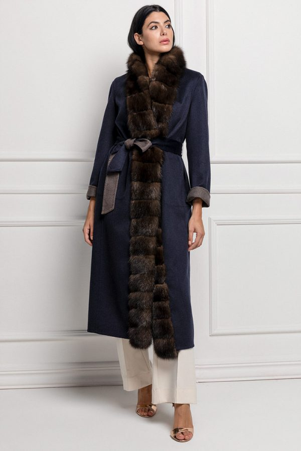 Double Face Cashmere Coat