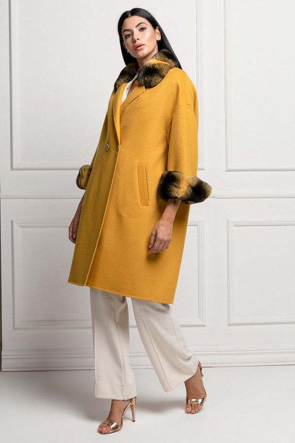 Cashmere with Yellow Chinchilla
