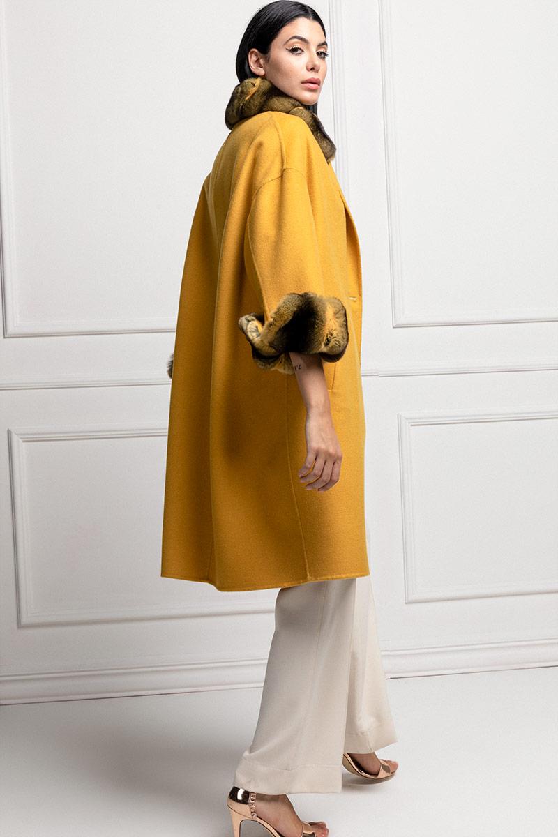 Cashmere with Yellow Chinchilla