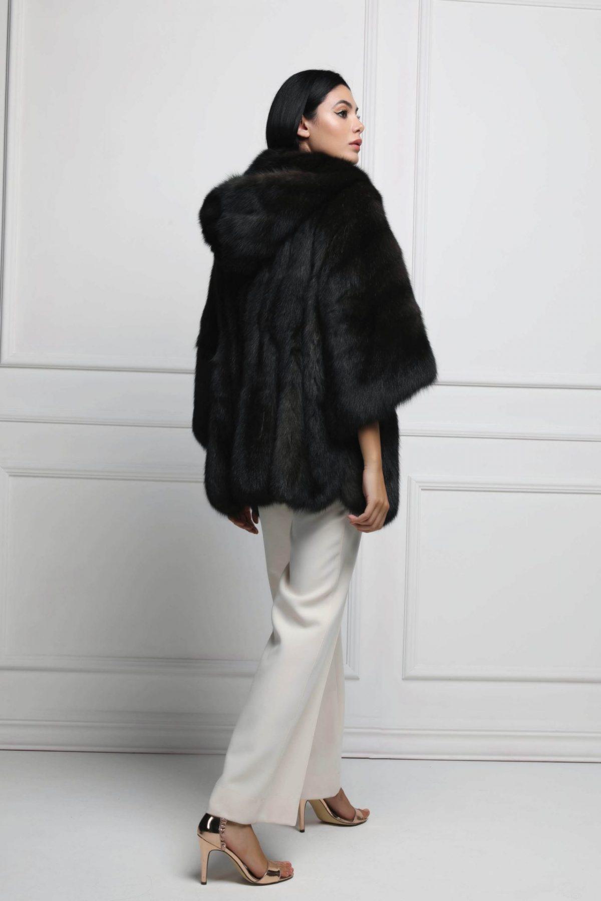 Cappotto di Zibellino Silvery 2