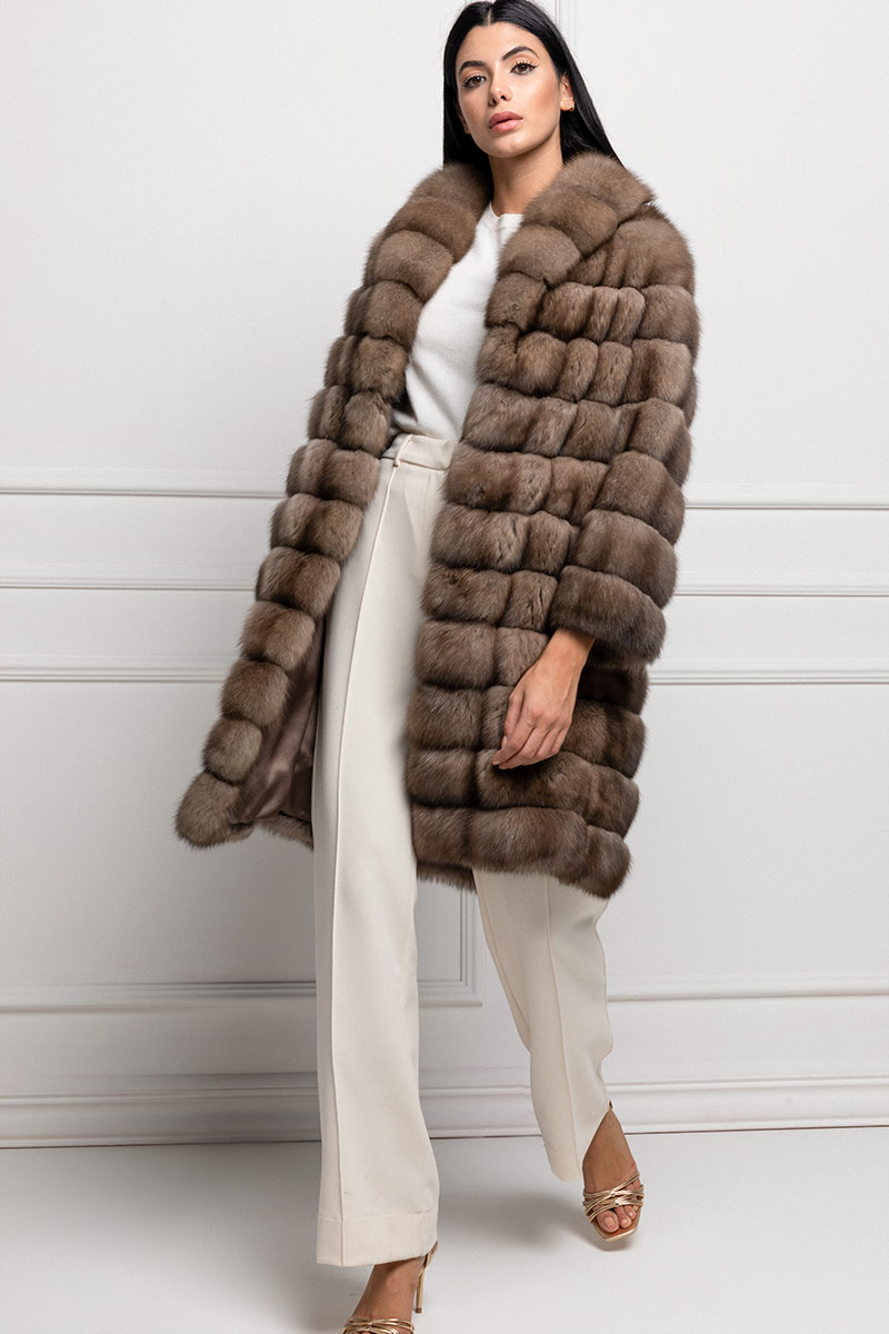 Tortora Sable Coat