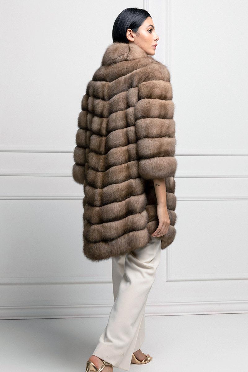 Tortora Sable Fur Coat