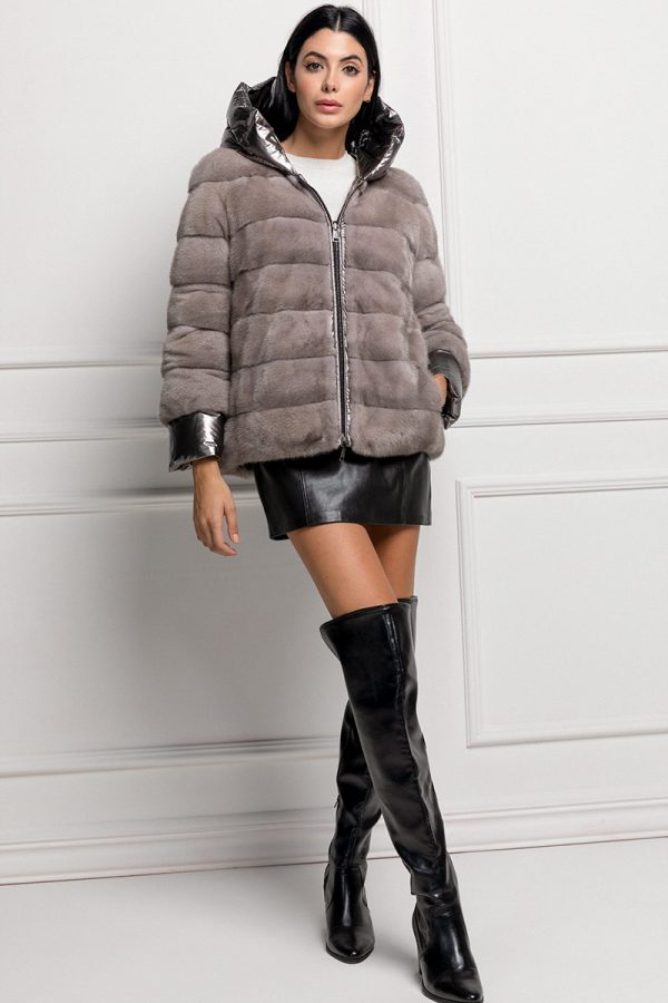 Mink Jacket Double Face