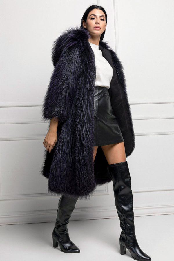 Violet Fox Fur