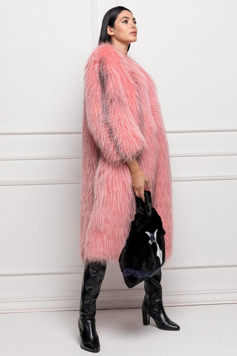 Cappotto di Volpe Rosa