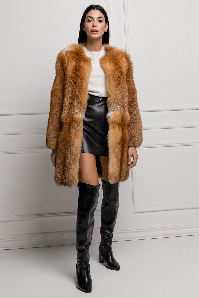 Red Fox Coat