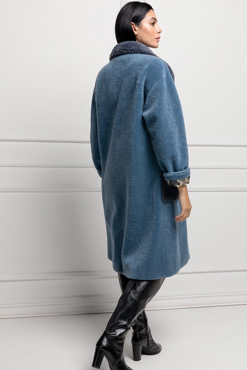 Blue Lamb Shearling
