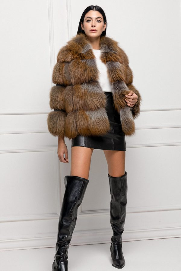 Brown Fox Fur