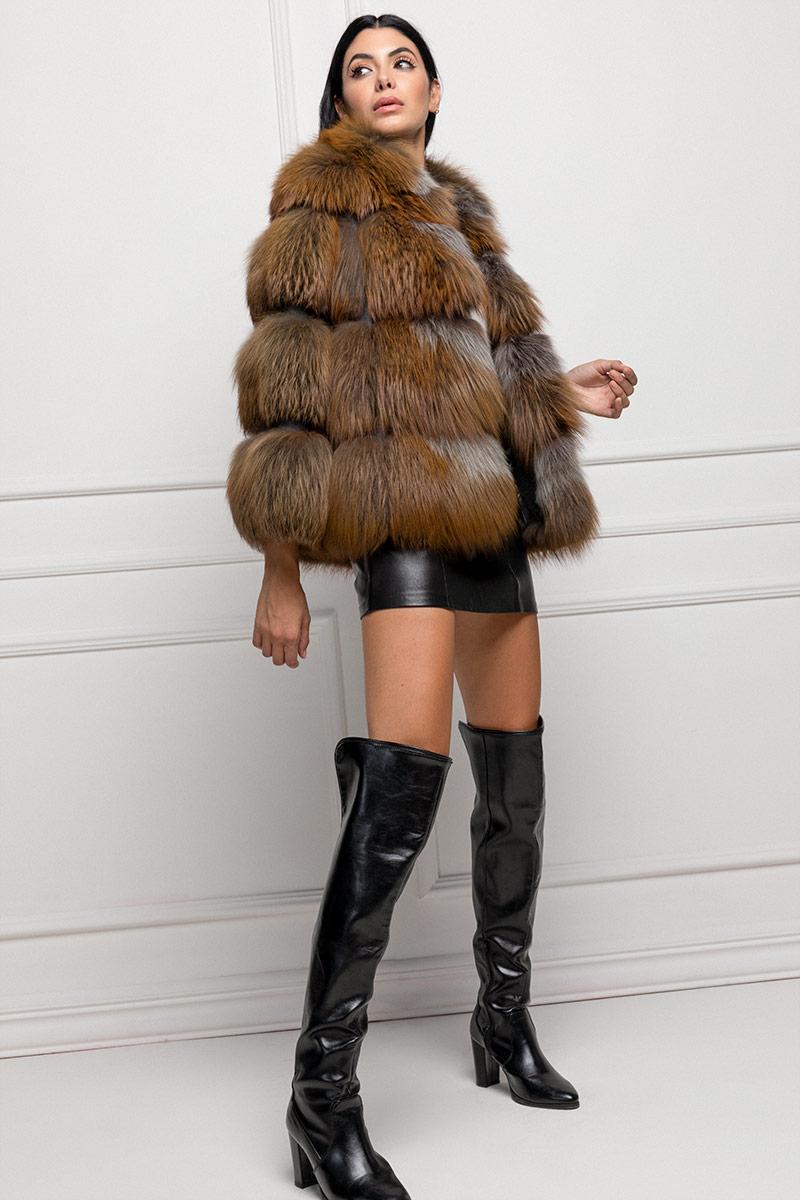 Brown Fox Fur