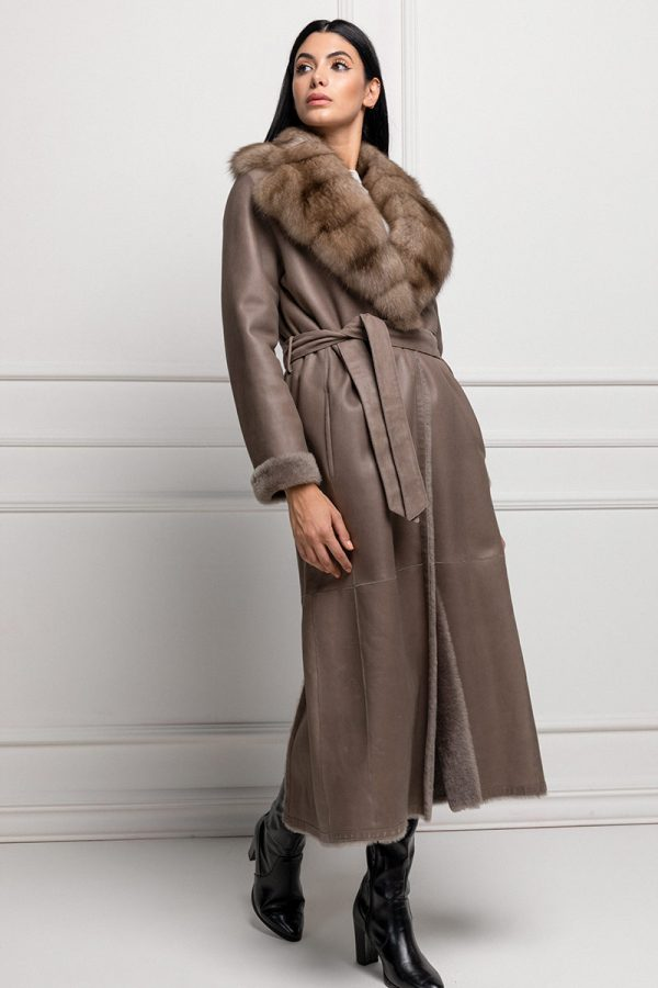 Lamb Shearling with Sable