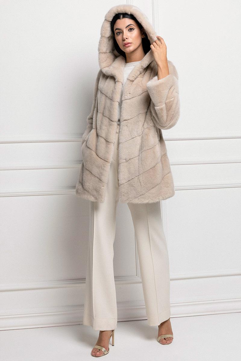Avorio Mink Coat