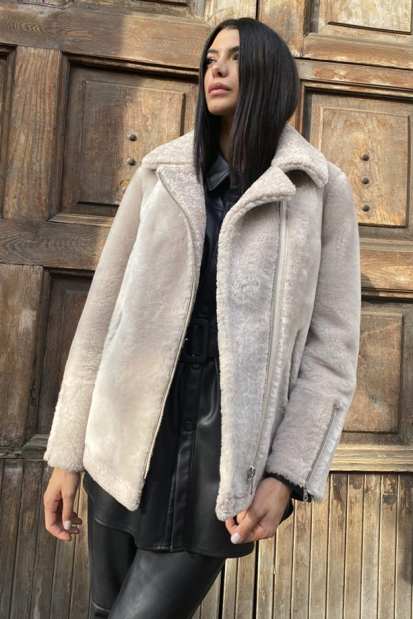 Lamb Shearling Jacket