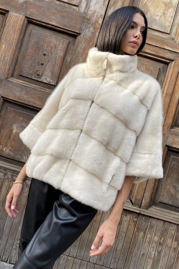 Pearl Mink Jacket
