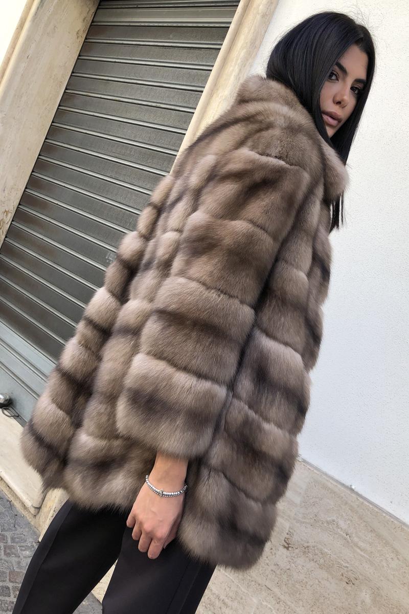 Russian Sable Fur Coat