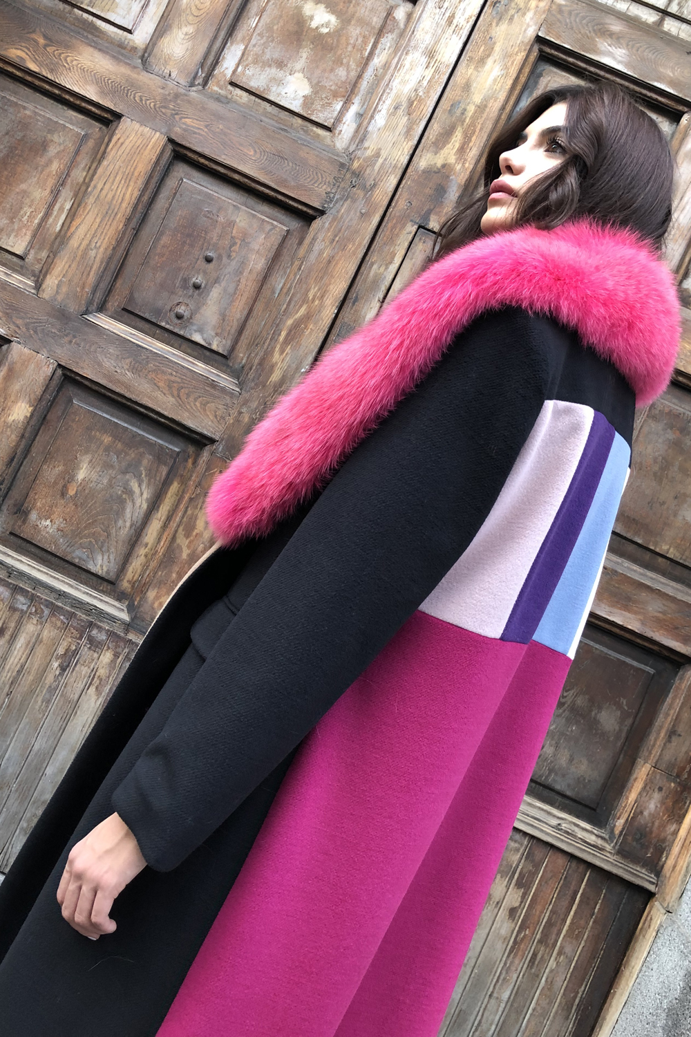 Wool and Cashmere Multicolor
