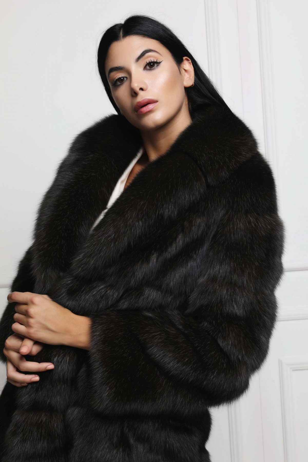 Silvery 5 Russian Sable Jacket