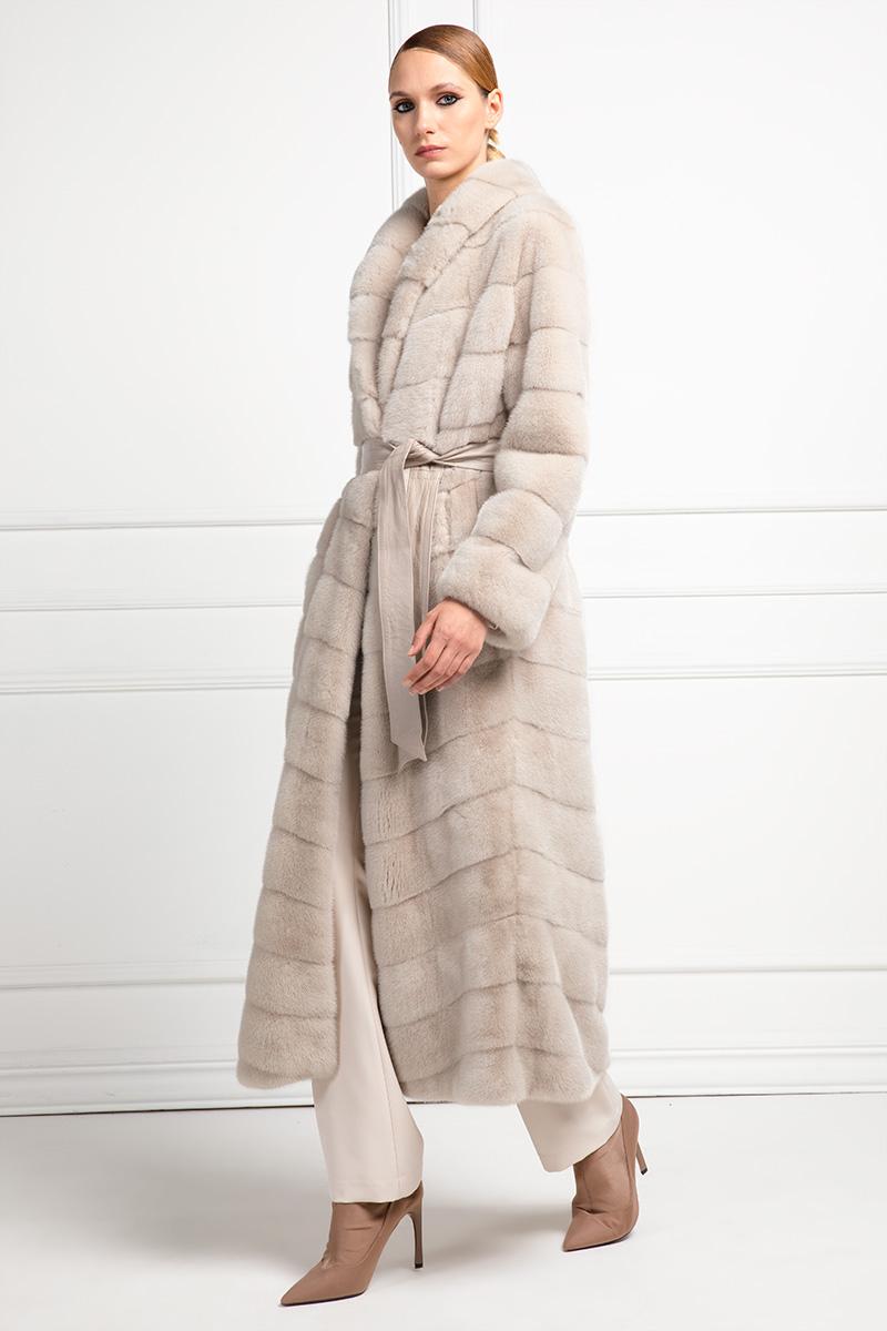 Ivory Mink Coat