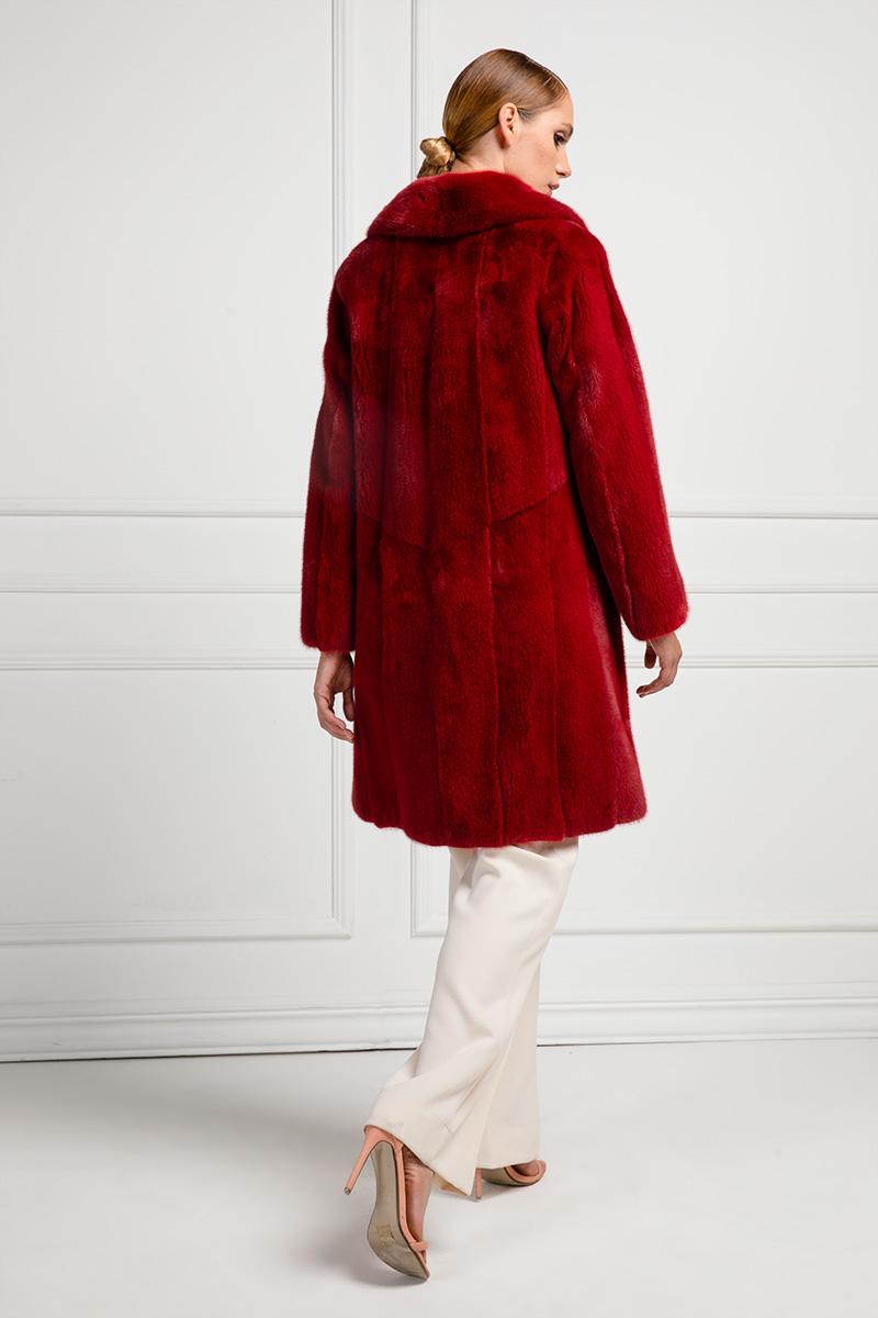 Red Mink Coat