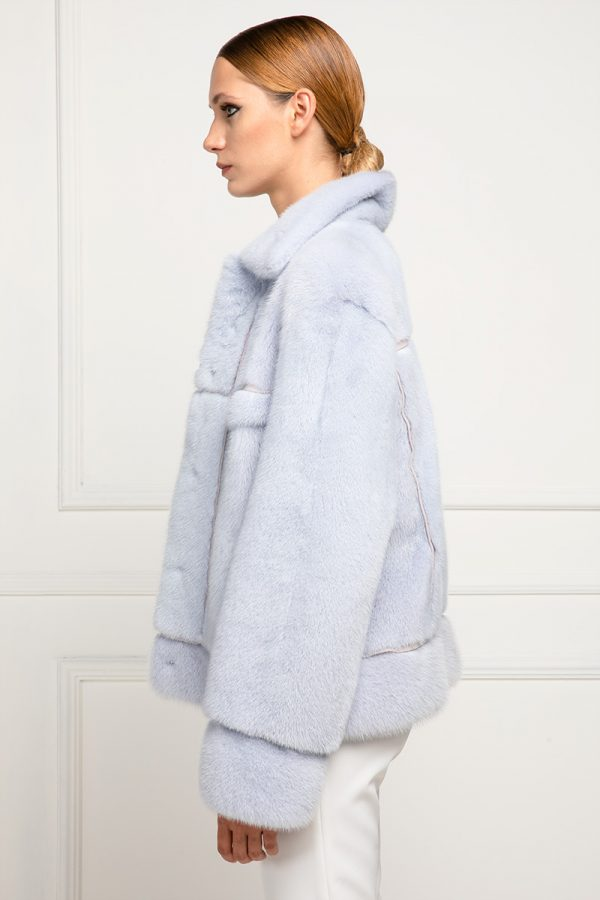 Sky Mink Jacket