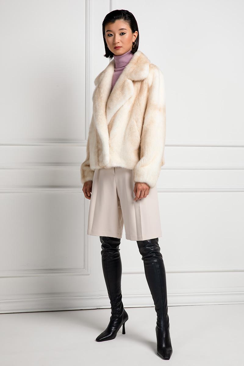Palomino Cross Mink Jacket