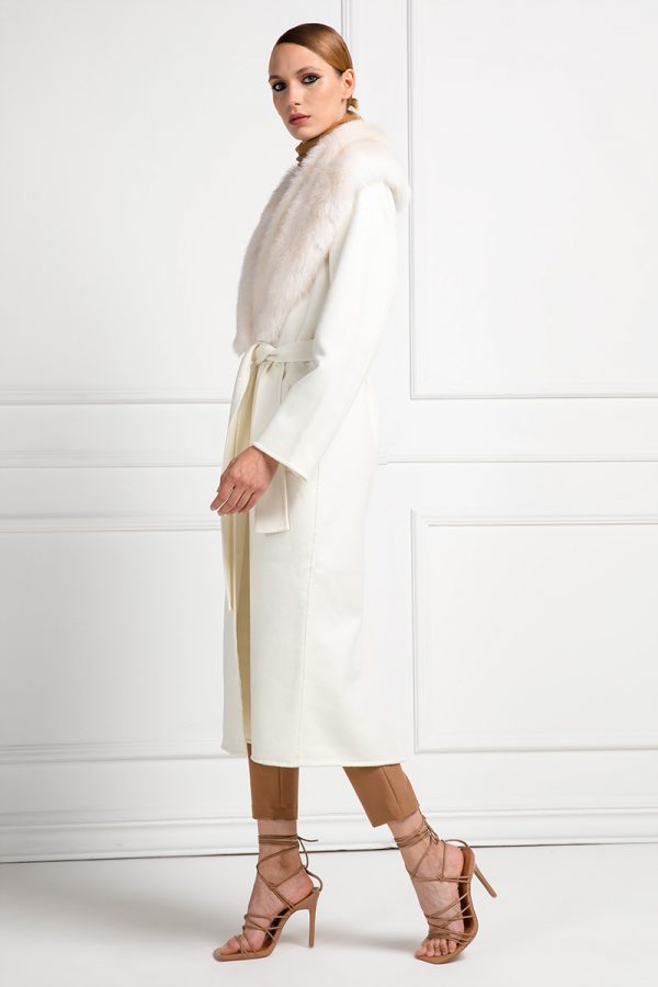 White Cashmere with Sable