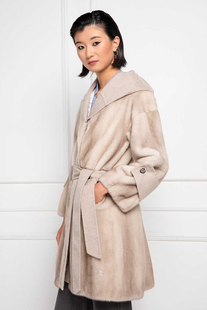 Mink Coat with Cashmere
