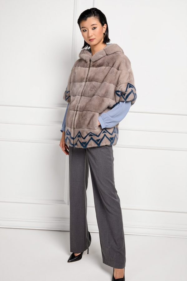 Toupe Mink with Cashmere