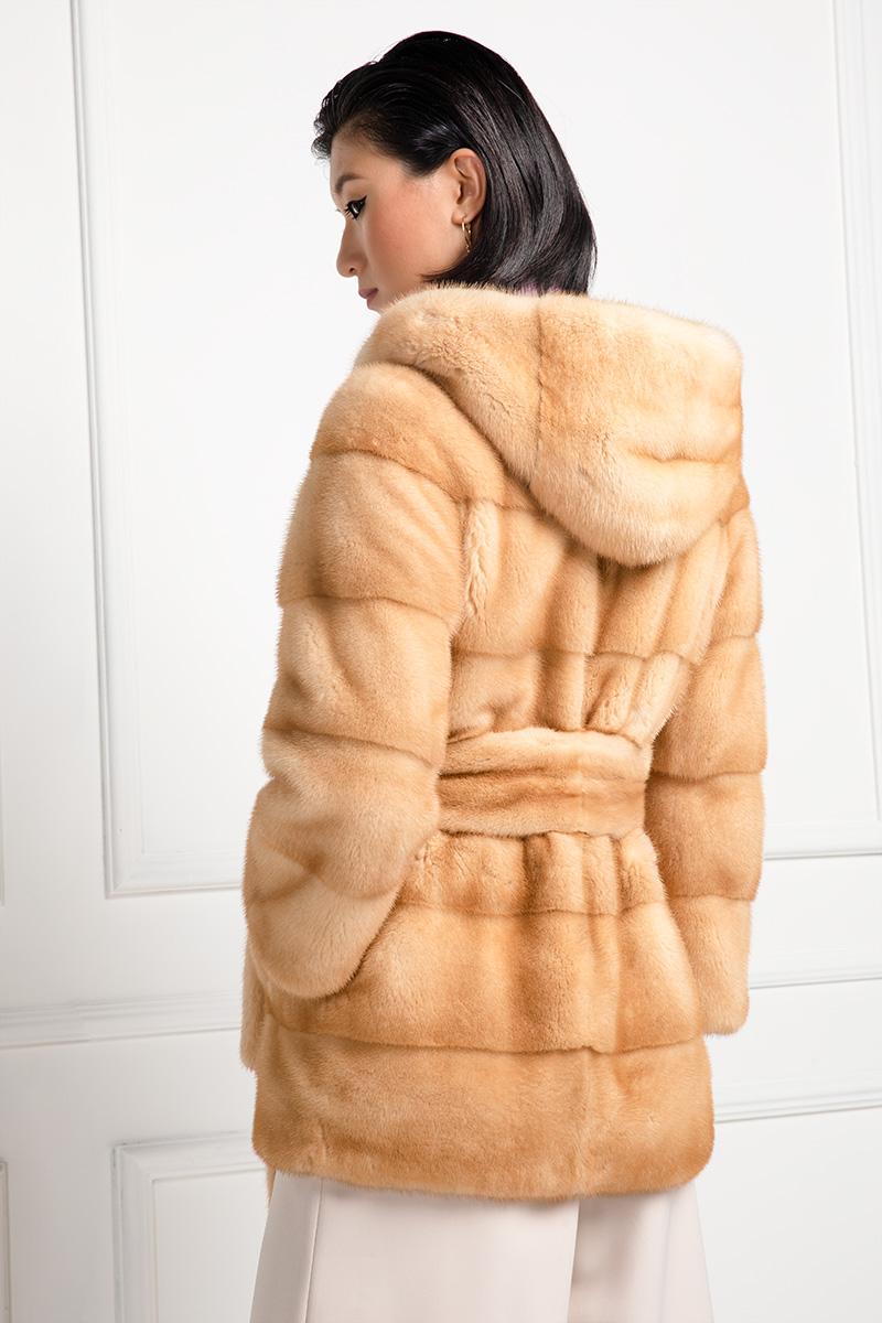 Creamy Mink Jacket