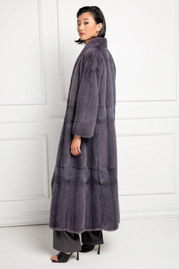 Lilac Mink Coat