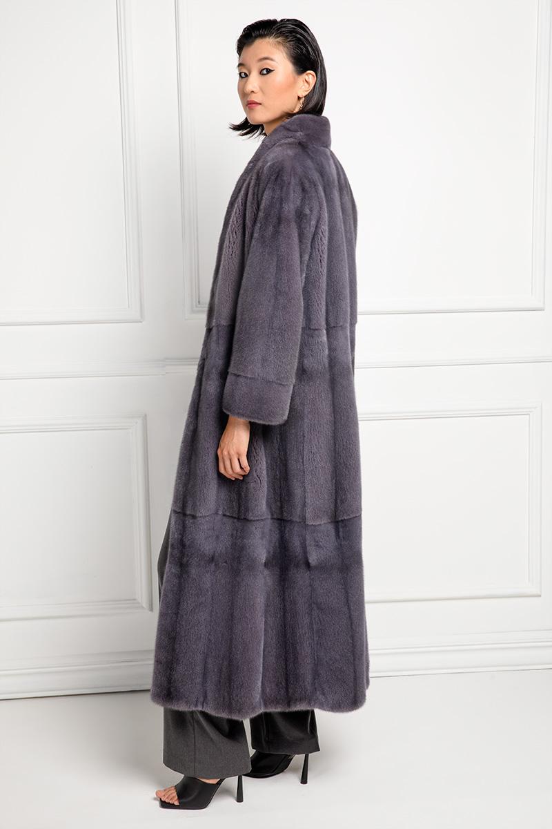 Cappotto di Visone Lilac