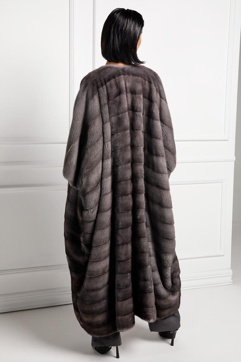Blue Iris Mink Coat