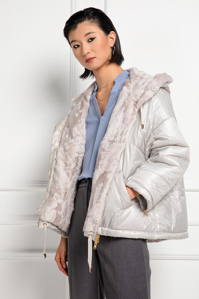 Xiangao Fur Jacket with Waterproof