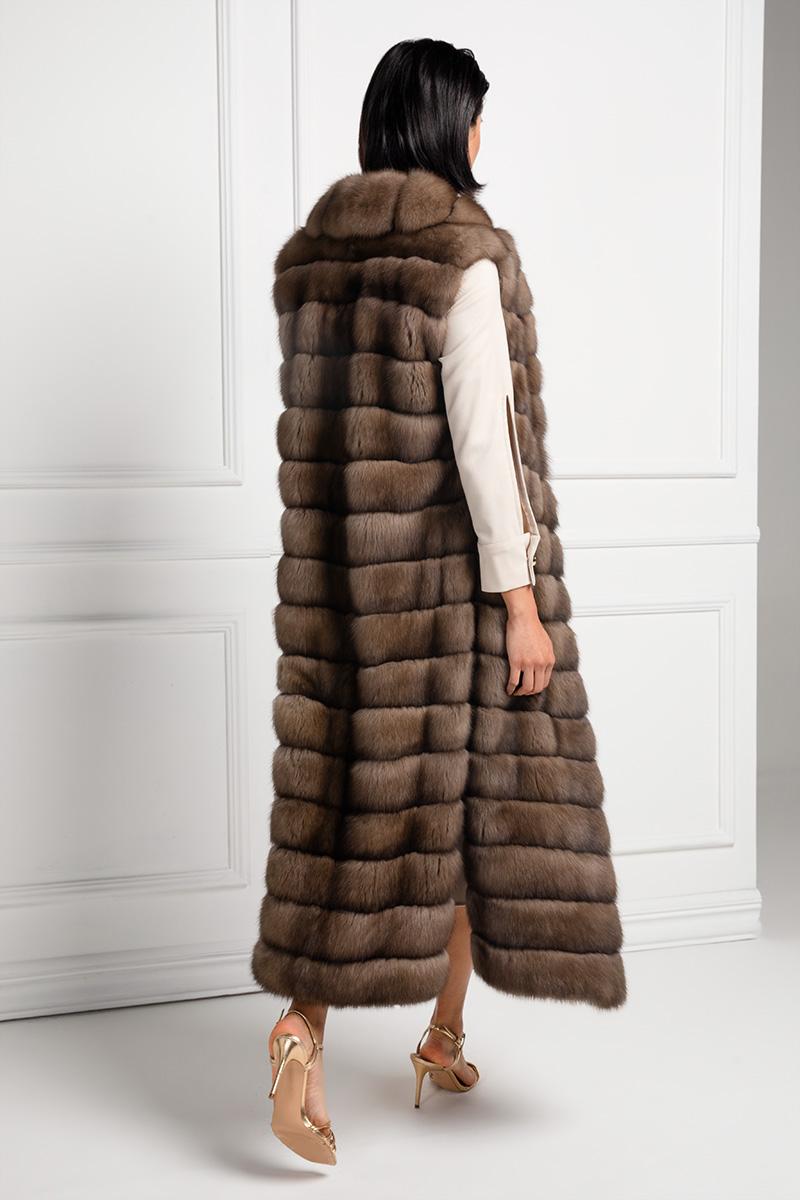 Sable Fur Vest