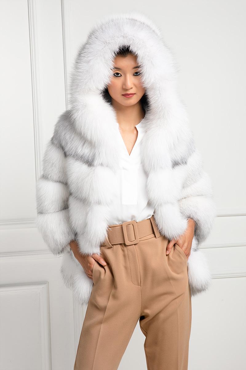 Shadow Blue Frost Fox Jacket